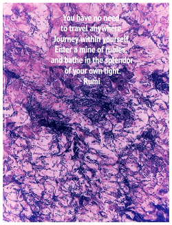 Purple Haze journey within yourself Sunny Seas Art