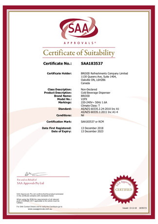 SAA -V2PX Certificate.jpg