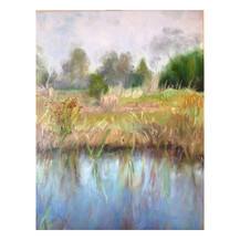 SOLD Wintertime Wetlands