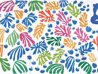 Children's Art with Heart  - Matisse Cut-outs