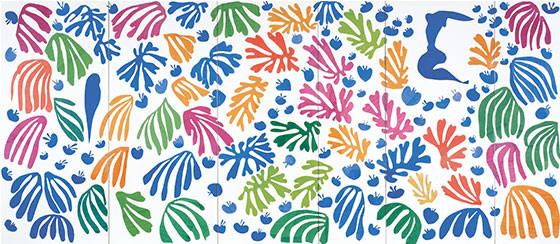 Henri Matisse, Parakeet and Mermaid