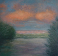 Available #10 Study for Winter and the Pink Cloud Sky