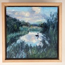 #14  $265. Swan Vignette