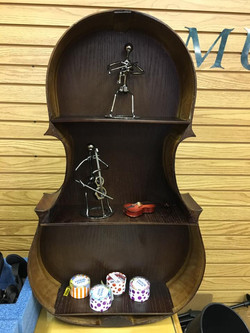 Fun cello shelf project
