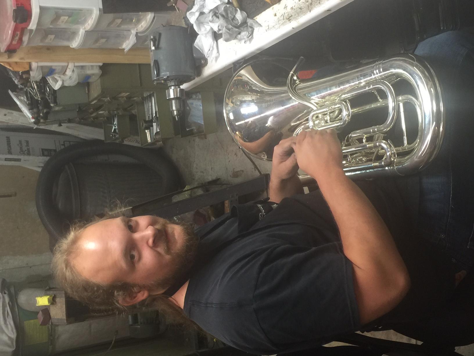 Horn Repair Tech, Rodney