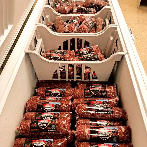 Raw Beef Grind - Fresh Frozen - 2lb Tube