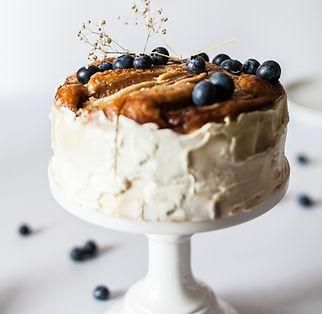 Blåbær kage
