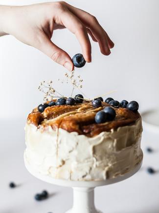 Blueberries Cake