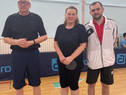 Спартакиады трудовых коллективов города Тобольска - настольный теннис