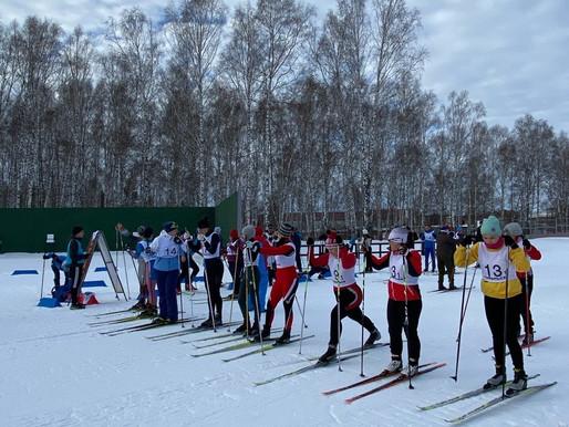 Соревнования по лыжным гонкам в зачёт XV Спартакиады трудовых коллективов города Тобольска.