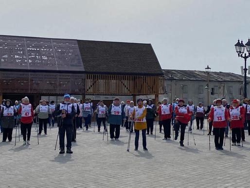 Фестиваль скандинавской ходьбы