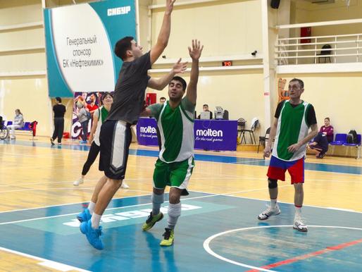 Завершились соревнования по стритболу в зачёт XV Спартакиады трудовых коллективов
