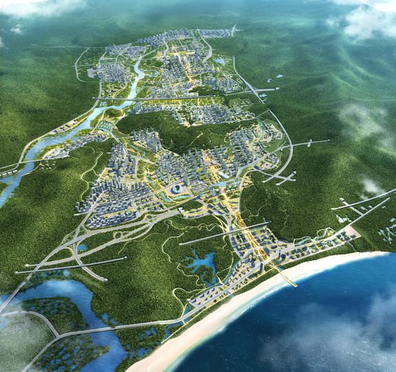 Shenshan Aerial View