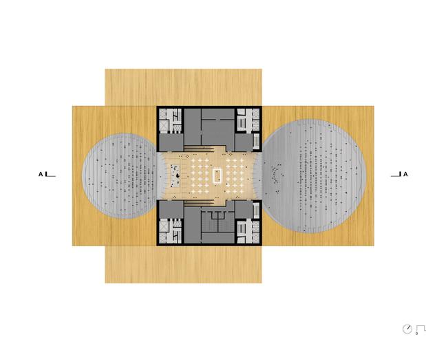 Pop Podium and Amphitheater Plan