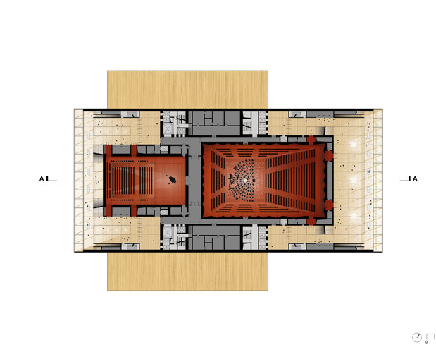 Concert Hall and Multifunctional Theater Plan