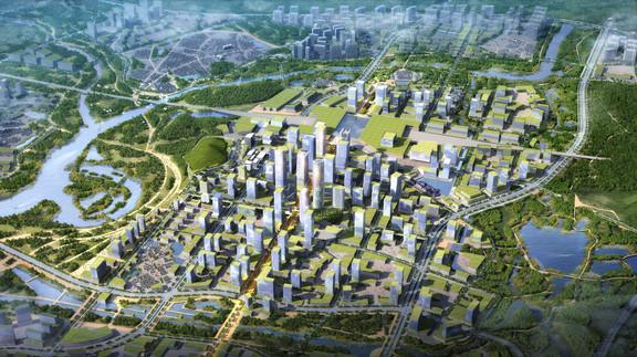 Shenshan CBD Aerial View
