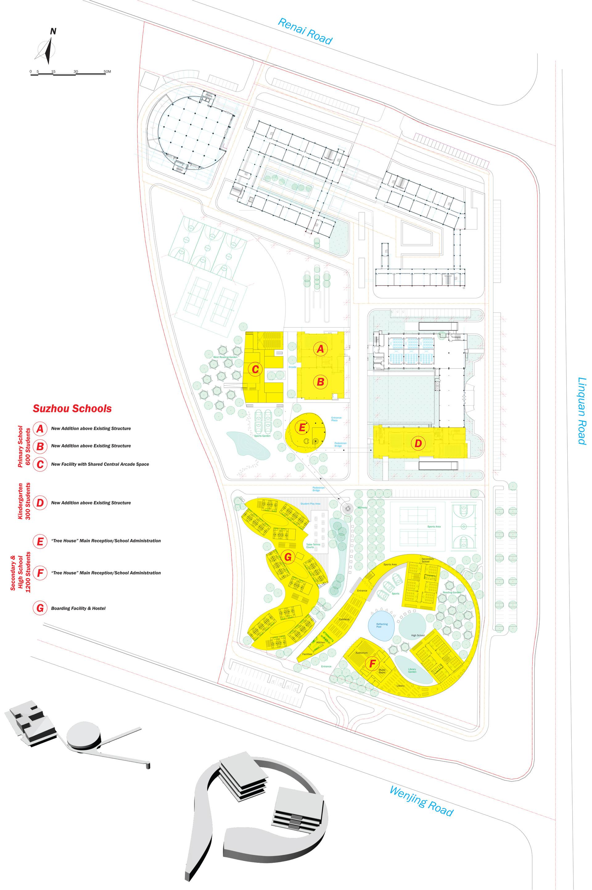 Gem School Site Plan