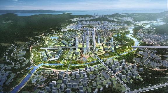 Shenshan View of Chishi River and CB
