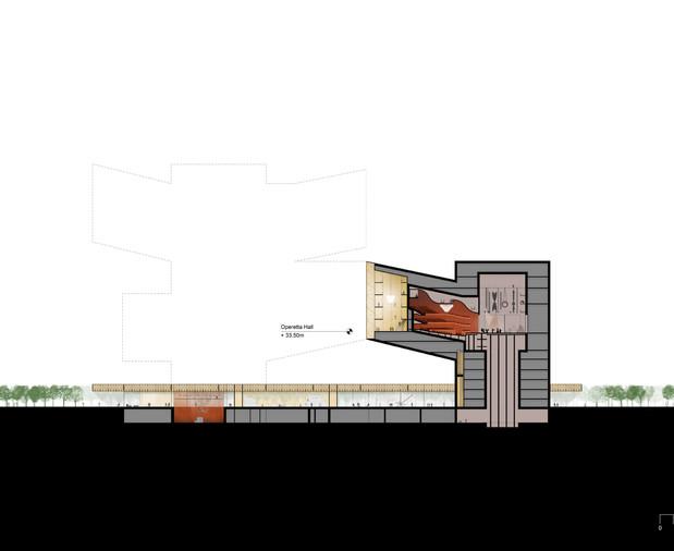 Operetta Building Section B_B