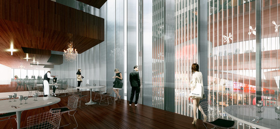 Shenzhen Two Towers_Interior