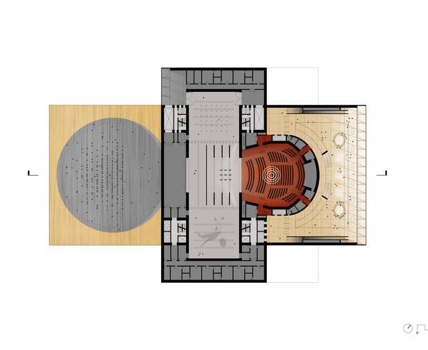 Operetta Hall Plan (Amphitheater shown at left)