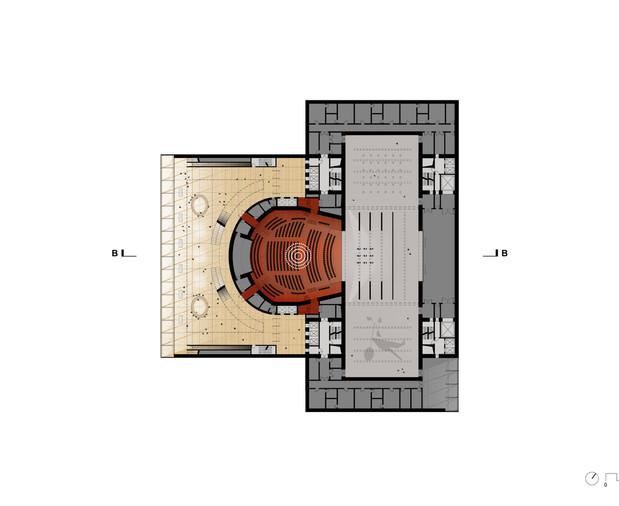 Operetta Hall Plan