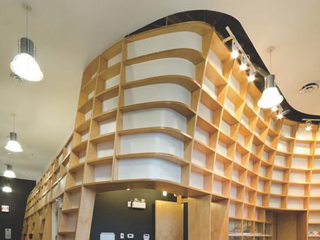 2012 Ontario Wood WORKS! Interior Wood Design Award for Metropolitan Pharmacy