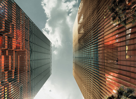 The Two Towers :CDB Tower and Minsheng Financial Tower 雙塔奇緣