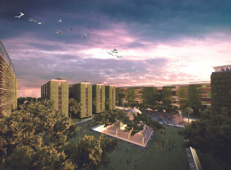"""Shobuj Pata"" Rupayan Eco City ""綠葉""生態社區"