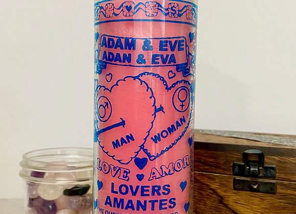 Adam & Eve - 7 Day Candle