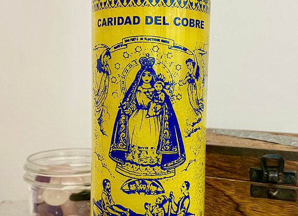 Our Lady of Charity, Caridad Del Cobre - 7 Day Candle