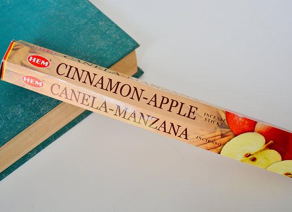 Cinnamon Apple Incense Sticks - HEM Incense Sticks