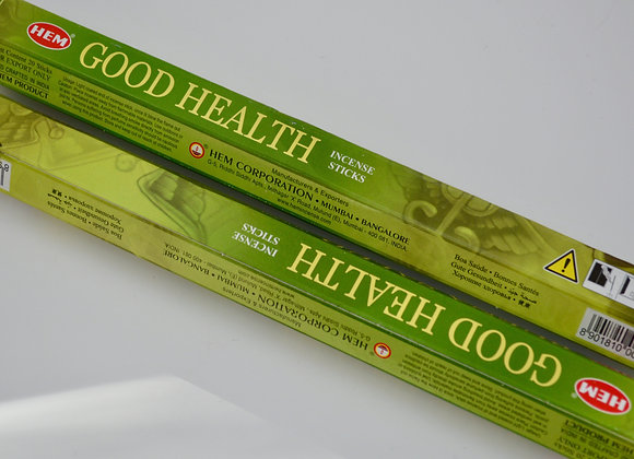 Good Health - HEM Incense Sticks