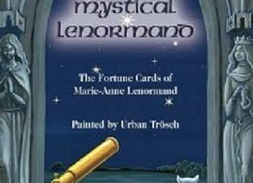 Mystical Lenormand Fortune Cards