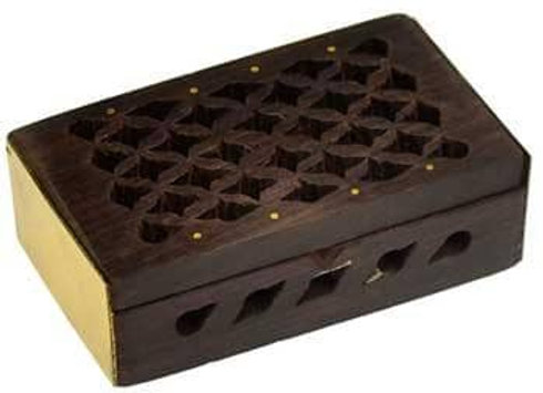 Rosewood Celestia Filigree Box