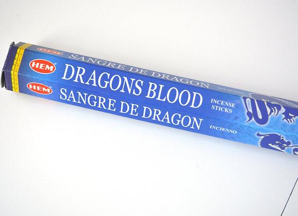 Blue Dragon's Blood - HEM Incense Sticks