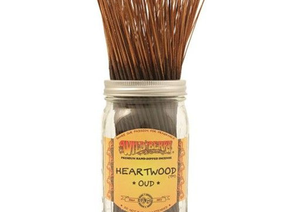 Heartwood Oud - Wildberry Stick Incense