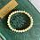 Thumbnail: Yellow/Orange Calcite Stretch Bead Bracelet
