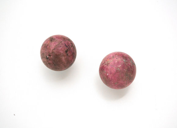 Rhodonite - Crystal Ball