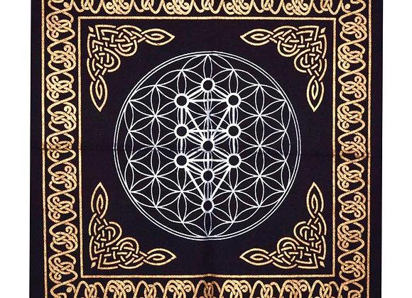 Geometric Tree of Life - Altar Cloth