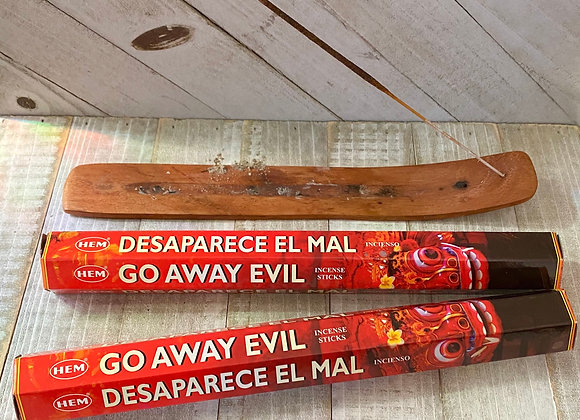 Go Away Evil - HEM Incense Sticks