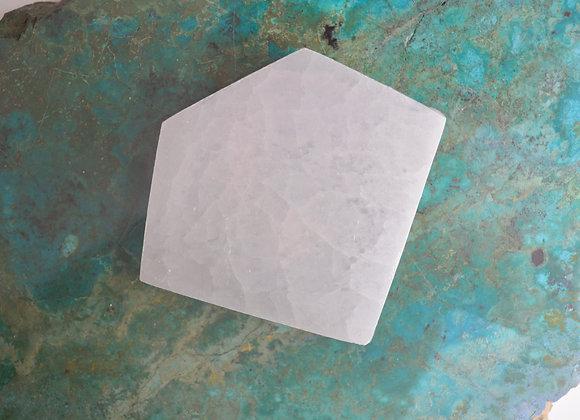 Selenite -  Diamond - Charging Plate