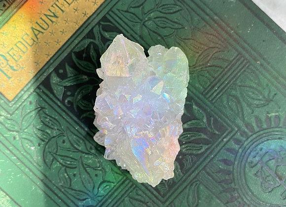 Opal Aura Spirit Quartz (Angel Aura) - Raw Cluster