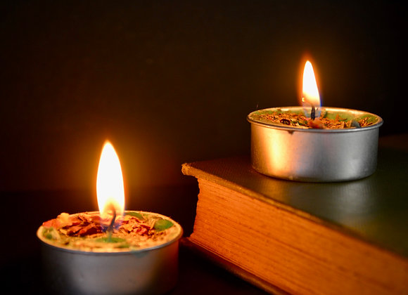 Prosperity Spell Tealight Candles 2 pack