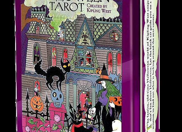 Halloween Tarot in a Tin