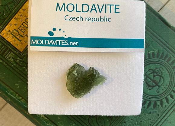 Moldavite from Czech Republic