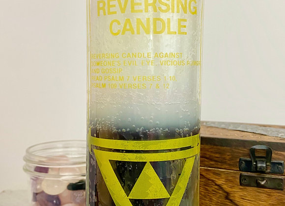 Reversing Eye - 2 Color, 7 Day Candle