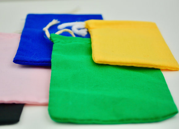 Cotton Mojo Bags - Variety of Colors