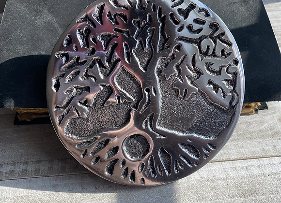 Tree of Life Metal Burner 4.75""