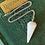 Thumbnail: White Agate Pendulum